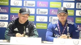 Sri Lanka v England 2nd ODI, Post match Press Conference - Jason Roy & Eoin Morgan