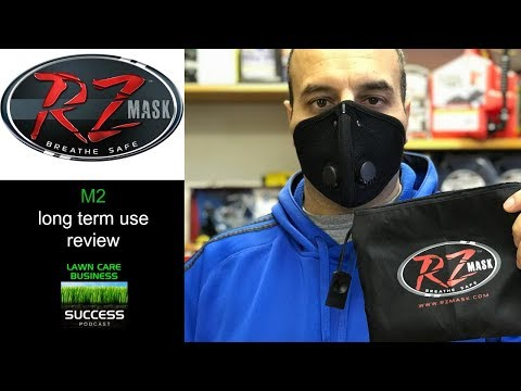 RZ Mask Review after 1 year - Best dust mask for lawn mowing
