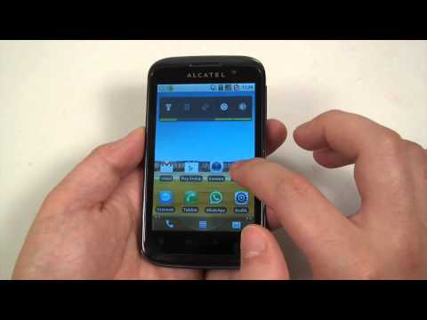 Alcatel One Touch 991 hands-on