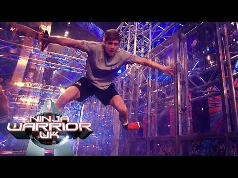 Corbin's Victory Roll | Ninja Warrior UK