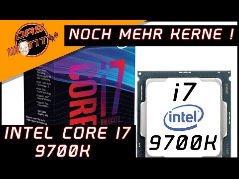 NOCH MEHR KERNE im Intel Core i7 9700K | Coffee Lake - Cannon Lake | DasMonty - Deutsch