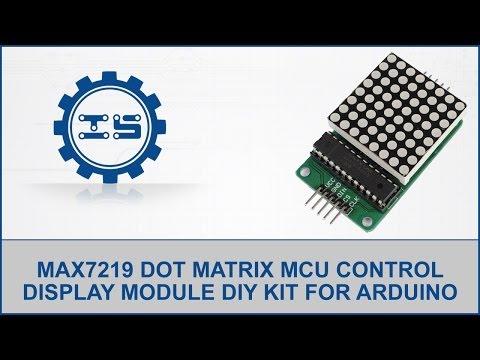MAX7219 Dot Matrix MCU Control Display Module DIY Kit for Arduino