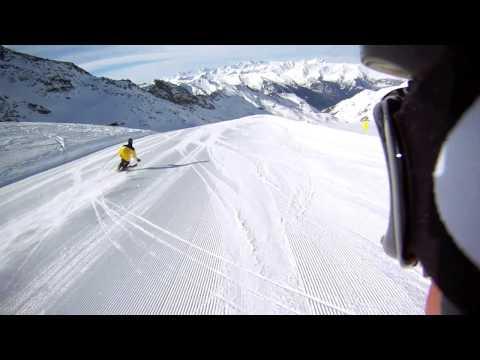 Wintersport - Les Trois Vallées - Maart 2013 - GoPro Hero HD - Skiing