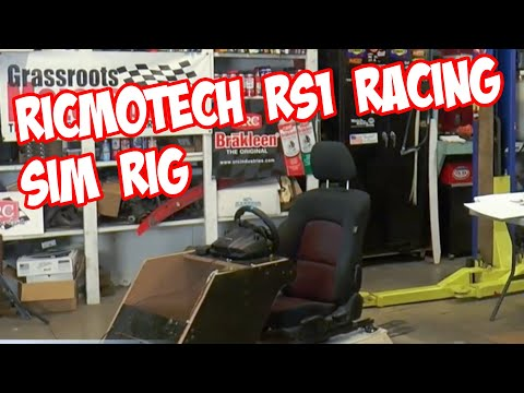 Ricmotech RS1 Racing Sim Rig build. GRM Live! Presented by CRC Industries