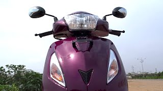 #ScooterFest: TVS Jupiter Million R Edition 2016 Walkaround Review, Test Ride