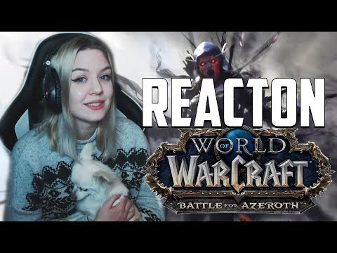 Battle for Azeroth Trailer Reaction