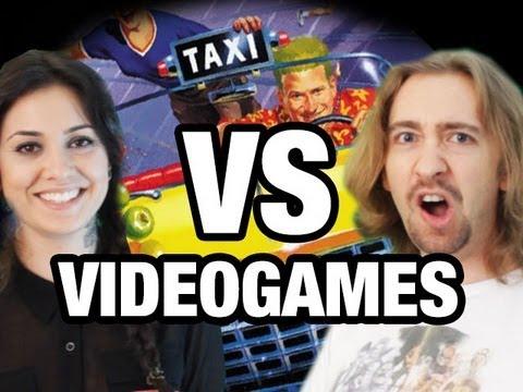Max & Tess VS VIDEOGAMES : Crazy Taxi