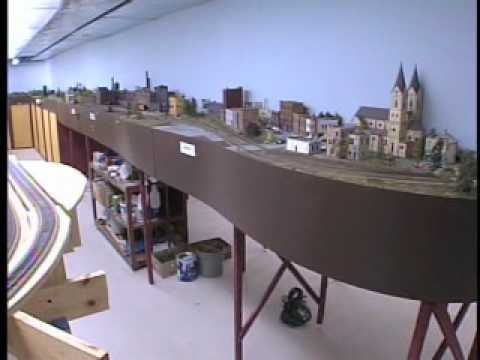 Huge Ho Scale Model Railroad Railway Layout Wfrv Tv