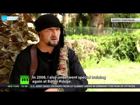 US-trained snr Tajik special forces commander defects to ISIS, swears jihad