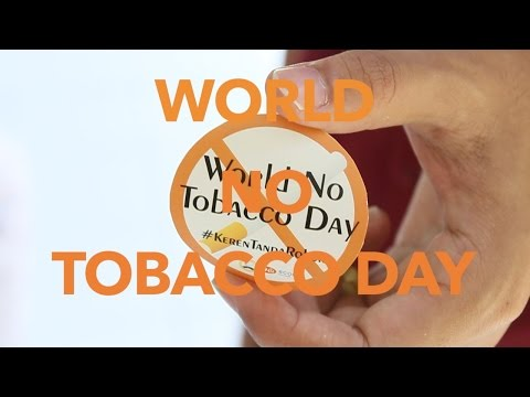 World No Tobacco Day 2015 SCOPH CIMSA UNAIR