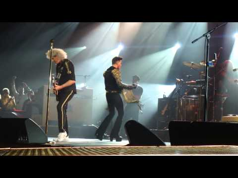 Queen and Adam Lambert - Somebody to Love, Auckland Vector Arena 4 Sep 2014