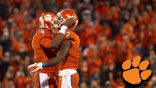 Deshaun Watson, Wayne Gallman & Mike Williams Say Goodbye To Clemson Fans