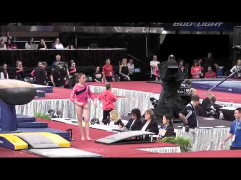 Sydney McGlone-Level 10 UGI Gymnast, 2012 Nastia Cup-Vault