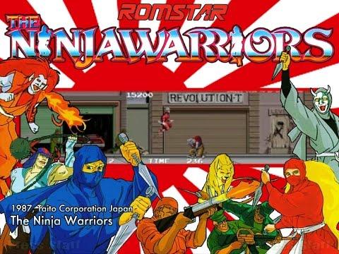 The Ninja Warriors (Arcade)