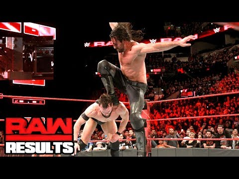 WWE UNBANS SETH'S STOMP? WWE Raw Review & Results 1/15/18 Going in Raw Pro Wrestling Podcast thumbnail