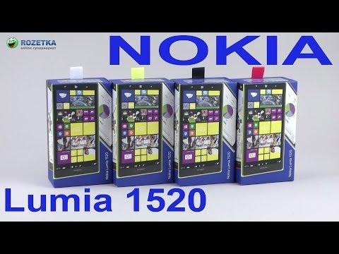Распаковка Nokia Lumia 1520
