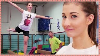 MAYBABY BECOMES A GYMNAST - Hey Guys, It