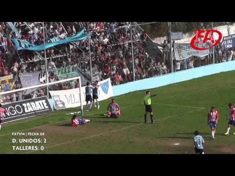 FATV 14 Fecha 4 - Defensores Unidos 2 - Talleres 0