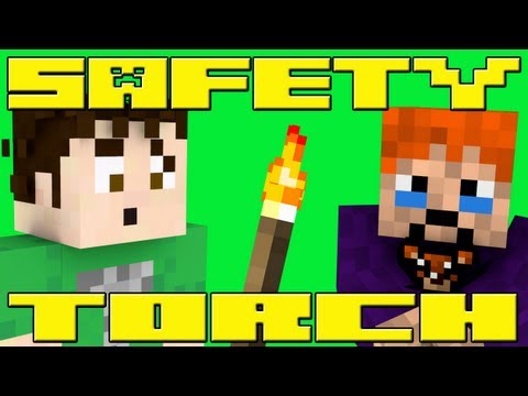 Safety Torch!! (minecraft Machinima) video