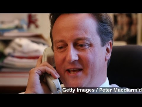 Can U.K.'s Cybersecurity Push Save Cameron From Prank Calls?