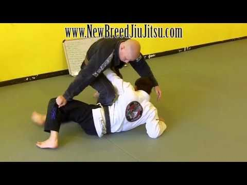 Knee On Belly - Stiff Arm Escape - Jiu Jitsu technique Image 1