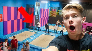 SUPER TRAMPOLINE PARK FAMILY REUNION!!