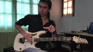 Steve Vai - Tender Surrender (Francisco Tomás Cover)
