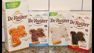 Making Hagelslag using De Ruijter Sprinkles in Milk Chocolate, Dark Chocolate, Fruit and Anise