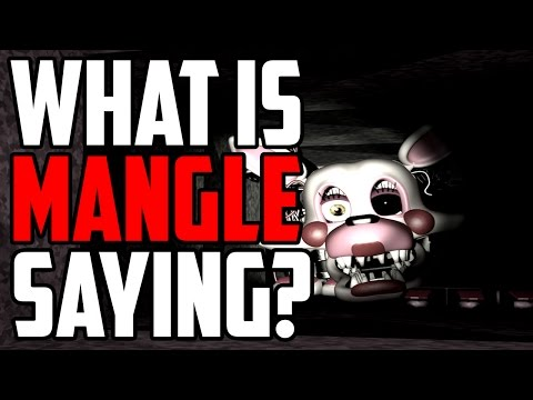Five Nights at Freddy's 2: Mangles Radio Signal! Whats It Saying/Mean?