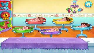 Game Bác Sĩ Vui Nhộn Cho Bé – Trang Trí Phòng Ngủ Và Làm Bánh Kem Đón Bé Về Nhà