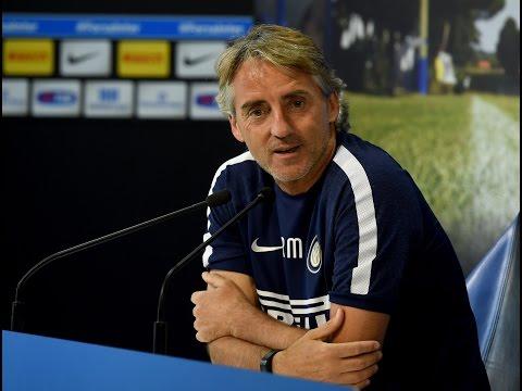 Live! Al via la stagione 2015/16 - Conferenza stampa di Roberto Mancini