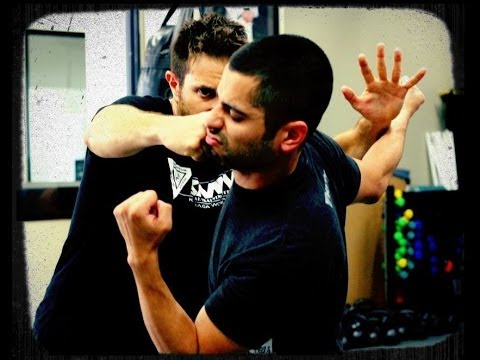 Krav Maga : How to Defend Against A Straight Punch in a Street Fight - Self Defense Technique Image 1