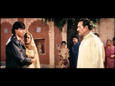 DDLJ: Simrans Father Confronts Raj (English subtitles)