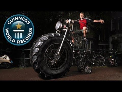 Heaviest Bike - Meet The Record Breakers - Guinness World Records