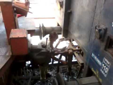 Railway Engine attaching