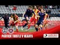 Partick Thistle Hearts goals and highlights