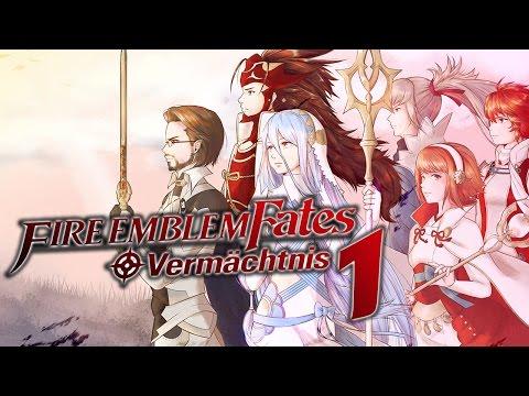 Let's Play Fire Emblem Fates: Vermächtnis [German] - #1 - Der Weg ist dein