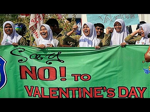 Pakistan, Iran, Indonesia Ban Valentine's Day