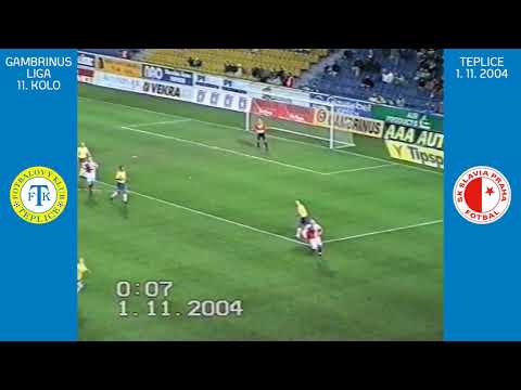 Gambrinus liga 2004/2005: Teplice - Slavia Praha (sezóna 2004/2005)
