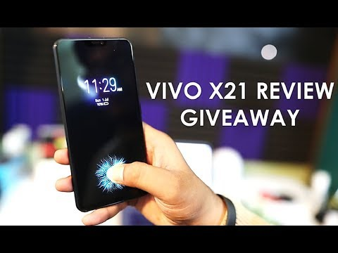 Vivo X21 Unboxing & Overview with In Display Fingerprint Scanner | GIVEAWAY