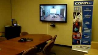 LifeSize HD Video Conferencing in boardroom