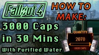 3000 Caps EVERY 30 Minutes! (w/o Glitching or Cheating) | Fallout 4