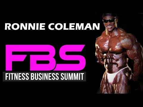 Ronnie Coleman (mr. Olympia) At Fitness Business Summit With Bedros Keuilian video