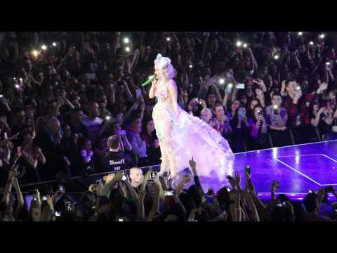 Katy Perry - Unconditionally Live In Bratislava, 2015.02.27 video
