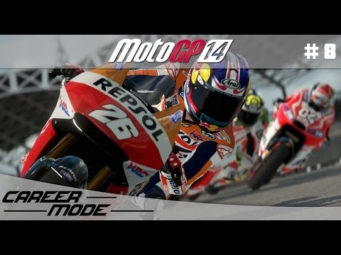 MotoGP 14 Gameplay Career Mode Walkthrough - Part 8 Moto 3 Italian Grand Prix