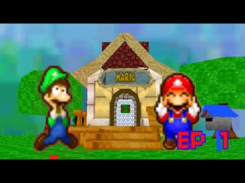 SM64: the adventures of mario and luigi ep 1