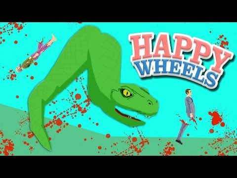 Happy Wheels: MURDER SNAKE