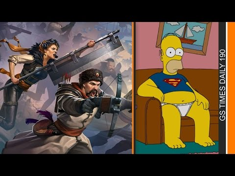 GS Times [DAILY]. Northgard, BattleCry, «Симпсоны»