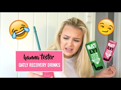 ♡Hanna tester: Oatly recovery drinks♡