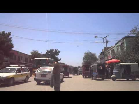 Kunduz city center, Afghanistan